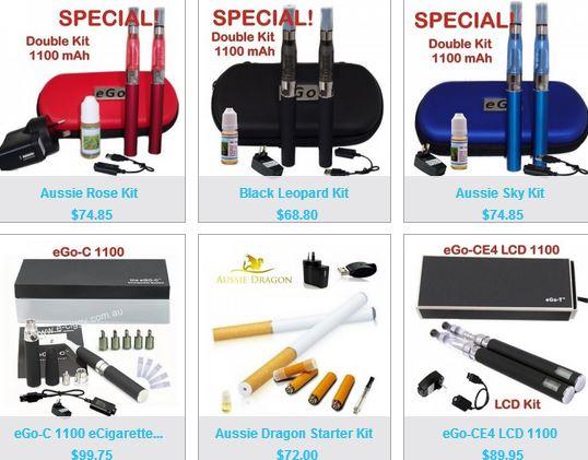 e-cigarettes starter kits