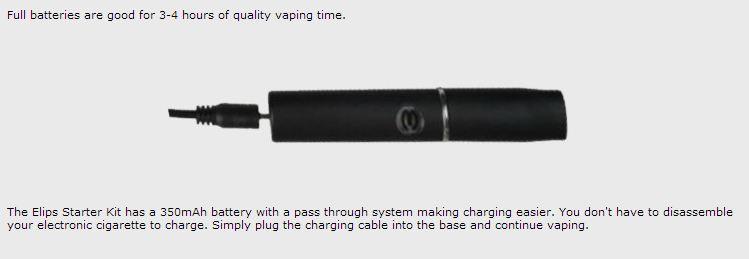e-lips battery